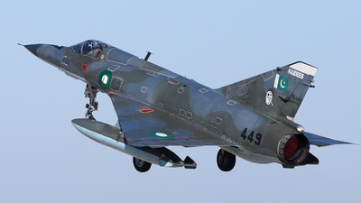79-449 - Dassault Mirage 5PA3 - Pakistan - Air Force