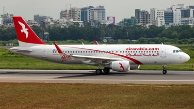 A6-ANW - Airbus A320-214 - Air Arabia