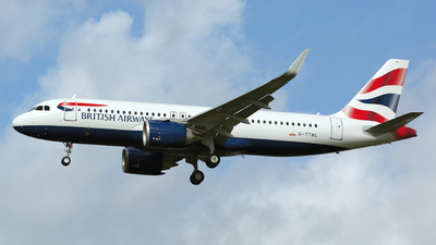 G-TTNL - Airbus A320-251N - British Airways