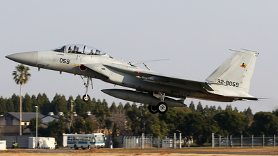 32-8059 - McDonnell Douglas F-15DJ Eagle - Japan - Air Self Defence Force (JASDF)