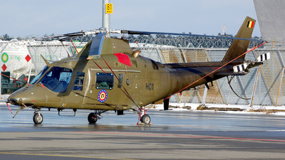 H01 - Agusta A109BA - Belgium - Air Force