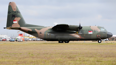 734 - Lockheed KC-130H Hercules - Singapore - Air Force