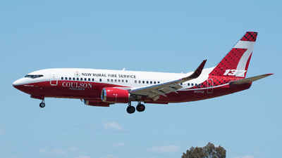 N137CG - Boeing 737-3H4 - Coulson Flying Tankers