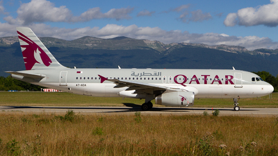 A7-ADA - Airbus A320-232 - Qatar Airways