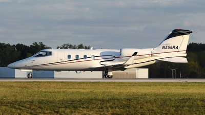 N559RA - Bombardier Learjet 55C - Royal Air Freight