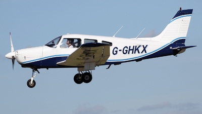 G-GHKX - Piper PA-28-161 Warrior II - Private