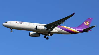 HS-TBA - Airbus A330-343 - Thai Airways International