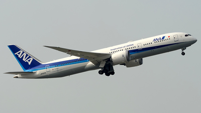 JA923A - Boeing 787-9 Dreamliner - All Nippon Airways (ANA)
