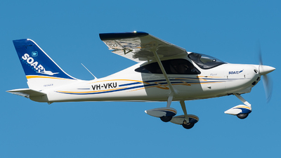 VH-VKU - Tecnam P2008 - Soar Aviation