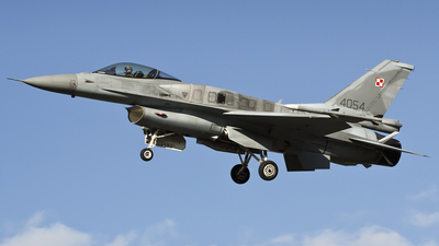 4054 - Lockheed Martin F-16C Fighting Falcon - Poland - Air Force