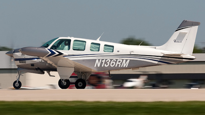 N136RM - Beechcraft A36TC Bonanza - Private