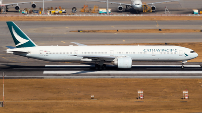 B-KPZ - Boeing 777-367ER - Cathay Pacific Airways