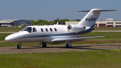N122HW - Cessna 525 CitationJet 1 - Private