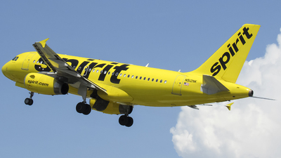 N512NK - Airbus A319-132 - Spirit Airlines