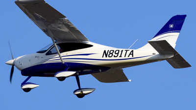 N891TA - Tecnam P2008 - Private