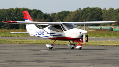G-ZOOB - Tecnam P2008JC - Private