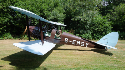 G-EMSY - De Havilland DH-82A Tiger Moth - Private