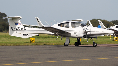 G-ZDEA - Diamond DA-42 Twin Star - Diamond Executive Aviation