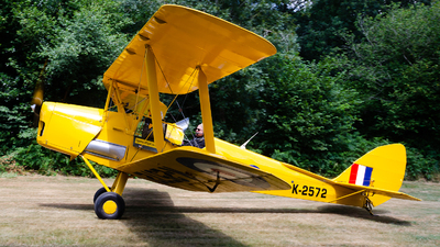 G-AOZH - De Havilland DH-82A Tiger Moth - Private