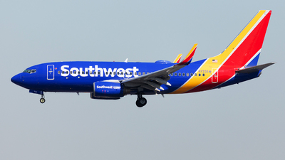 N723SW - Boeing 737-7H4 - Southwest Airlines