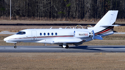 N645QS - Cessna Citation Latitude - NetJets Aviation