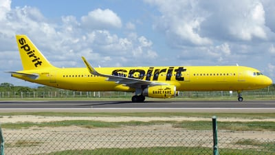 N658NK - Airbus A321-231 - Spirit Airlines