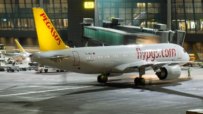 TC-NCE - Airbus A320-251N - Pegasus Airlines
