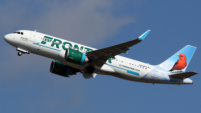 N354FR - Airbus A320-251N - Frontier Airlines