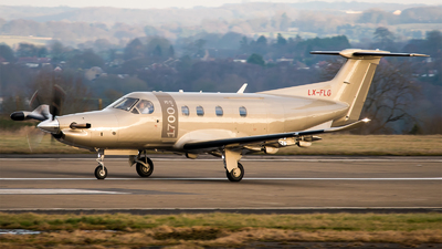 LX-FLG - Pilatus PC-12/47E - Jetfly Aviation
