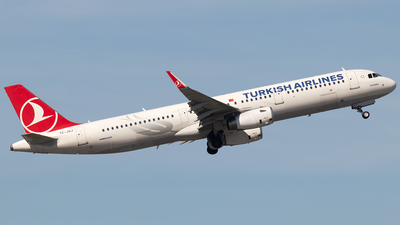 TC-JSJ - Airbus A321-231 - Turkish Airlines