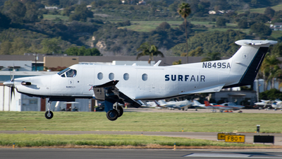 N849SA - Pilatus PC-12/47E - SurfAir