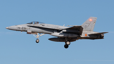 C.15-38 - McDonnell Douglas EF-18A+ Hornet - Spain - Air Force