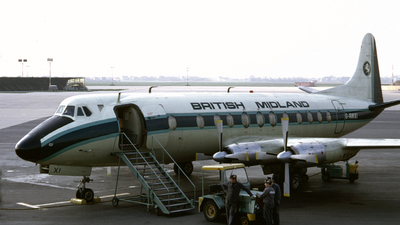G-AWXI - Vickers Viscount 814 - British Midland