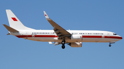 A9C-ISA - Boeing 737-86J - Bahrain - Royal Flight