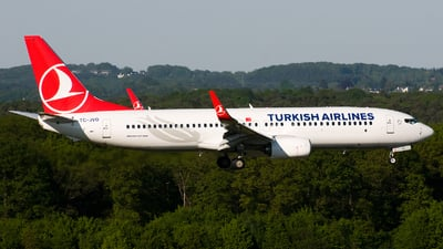 TC-JVO - Boeing 737-8F2 - Turkish Airlines