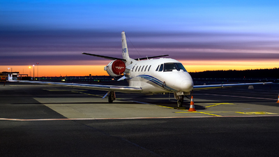 SP-KCS - Cessna 560XL Citation XLS - Blue Jet