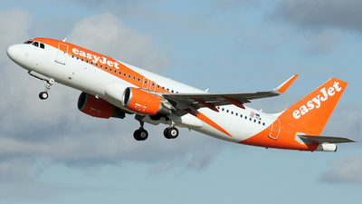 OE-ICW - Airbus A320-214 - easyJet Europe