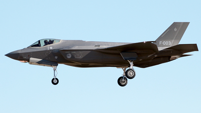 F-003 - Lockheed Martin F-35A Lightning II - Netherlands - Royal Air Force