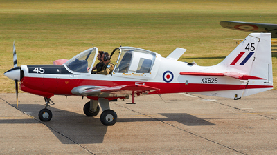 G-UWAS - Scottish Aviation Bulldog T.1 - Private