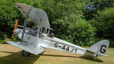 G-AAJT - De Havilland DH-60G Gipsy Moth - Private