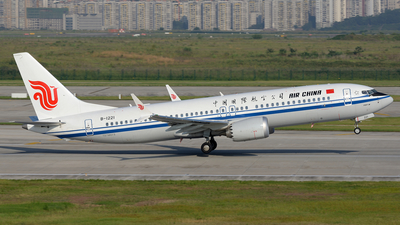 B-1221 - Boeing 737-8 MAX - Air China