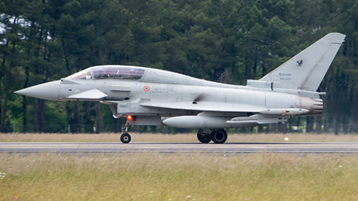 MM55128 - Eurofighter Typhoon EF2000(T) - Italy - Air Force