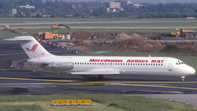 YU-AJJ - McDonnell Douglas DC-9-32 - Macedonian Airlines (MAT)
