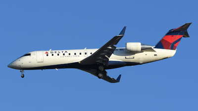 N455SW - Bombardier CRJ-200ER - Delta Connection (SkyWest Airlines)