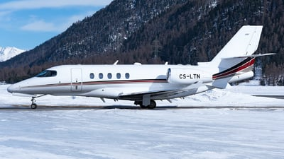 CS-LTN - Cessna Citation Latitude - NetJets Europe