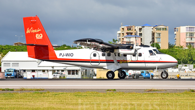 PJ-WIO - De Havilland Canada DHC-6-300 Twin Otter - Winair - Windward Islands Airways