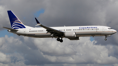 HP-9902CMP - Boeing 737-9 MAX - Copa Airlines