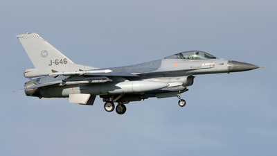 J-646 - General Dynamics F-16AM Fighting Falcon - Netherlands - Royal Air Force
