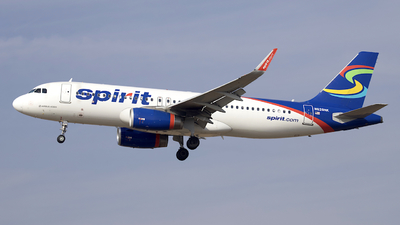 N628NK - Airbus A320-232 - Spirit Airlines