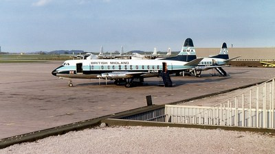 G-AZNB - Vickers Viscount 813 - British Midland